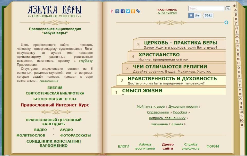 Сайт azbyka.ru